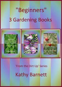 """""""Beginners""""  3 Gardening Books"""