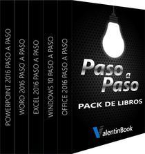 PACK DE LIBROS PASO A PASO