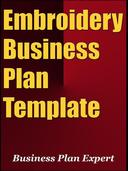 Embroidery Business Plan Template (Including 6 Special Bonuses)