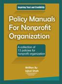 Policy Manuals for Nonprofit Organization