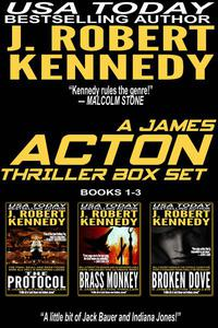 The James Acton Thrillers Series: Books 1-3