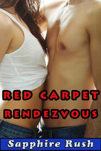 Red Carpet Rendezvous (public sex MMF menage)