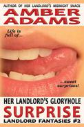 Her Landlord's Gloryhole Surprise (Older Man Fantasies)