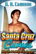 Santa Cruz Curves (A Big Girls & Bad Boys Erotic Romance)