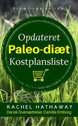 Opdaterede Paleo-Diæts Kostplanslist - Madliste
