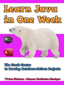 Learn Java in One Week: The Crash Course to Develop Database-Driven Projects