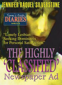 Tammy's Private Diaries - March 31 - The Highly 'Classified' Newspaper Ad
