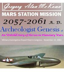 Mars Station Mission. 2057-2061 AD. Archeologist Genesis.
