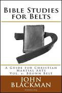 Bible Studies for Belts: A Guide for Christian Martial Arts Vol. 6: Brown Belt