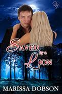 Saved by a Lion: A Crimson Hollow Novella