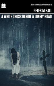 A White Cross Beside A Lonely Road