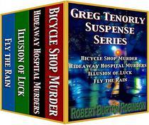 Greg Tenorly Suspense Series Boxed Set