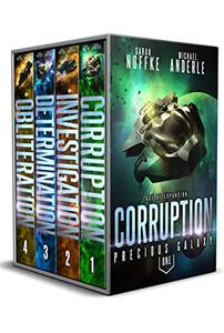 Precious Galaxy Complete Boxed Set : Corruption, Investigation, Determination, Obliteration