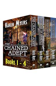 The Chained Adept Bundle (Books 1-4): A Lost Wizard's Tale