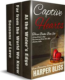 Captive Hearts: Three Lesbian Romance Novels
