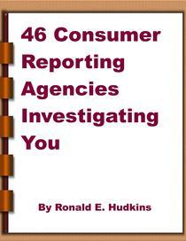 46 Consumer Reporting Agencies Investigating You
