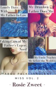 Taboo Pack: Innocent Miss Vol. 2 (4 short stories)