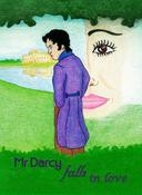 Mr Darcy falls in love