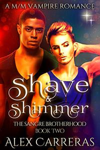 Shave & Shimmer: A M/M Vampire Romance