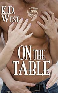 On the Table: A Friendly Ménage Tale (new adult FFM threesome erotic romance)