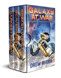 GALAXY AT WAR: Three Space Opera Adventures for the Price of One!