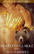 The Write Bear: A BBW Bear Shifter Romance