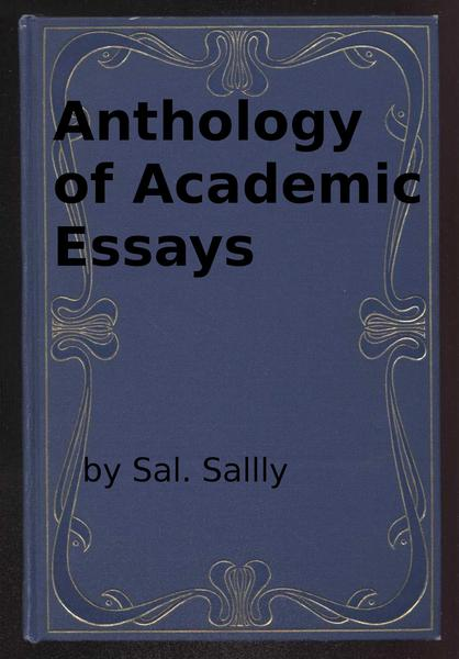 english anthology essays The norton anthology of english literature the lady of shallot what do you make of the fact that lady of shallot writes her name on.