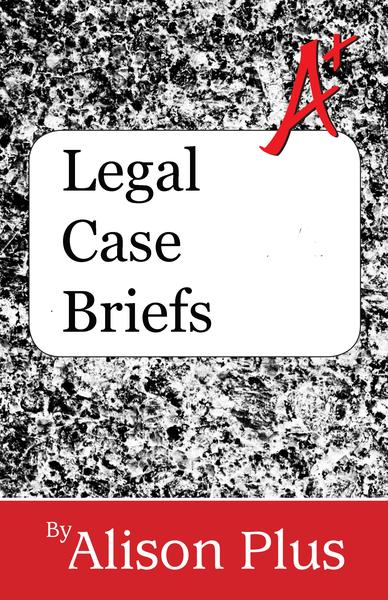 a guide to legal case briefs An appellate brief contains a statement of the legal issues, a statement of facts, an argument and a conclusion the following is a description of each element of a brief: title page the title page of an appellate brief identifies the court, the docket number, the name of the case, the side represented and the name(s) and address(es) of counsel.