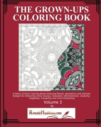 The Grown-Ups Coloring Book Volume 3