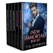 New Immortals Box Set Books 1-4 plus Exclusive Christmas Story: Steamy Paranormal Romance