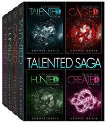 The Talented Saga: Books 1-4 plus Novella: A Dystopian Paranormal Romance