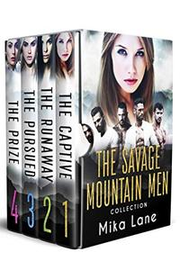 The Savage Mountain Men Romance Collection: Books 1-4
