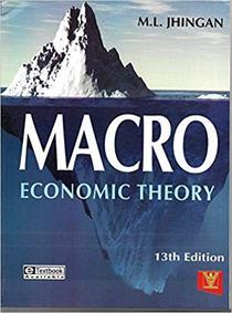 Macro Economic Theory 13/e PB....Jhingan M L