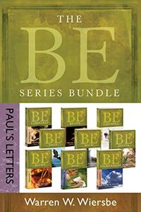 The BE Series Bundle: Paul's Letters: Be Right, Be Wise, Be Encouraged, Be Free, Be Rich, Be Joyful, Be Complete, Be Ready, Be Faithful