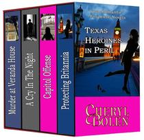 Texas Heroines in Peril - Boxed Set, 4 books