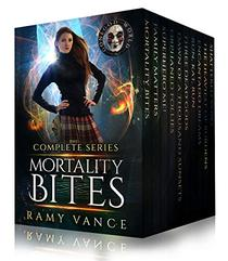 Mortality Bites - The COMPLETE Boxed Set (Books 1 - 10): An Urban Fantasy Epic Adventure