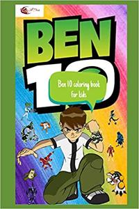 Ben 10 coloring book for kids