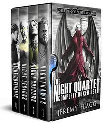The Night Quartet Boxed Set: A Dystopian Superhero Story