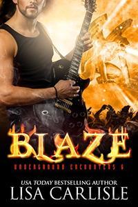 Blaze: a gargoyle shifter rockstar romance