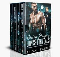 Hockey Playing Lion Shifter Dads: A Sports Paranormal Single Mom Secret Baby Romance