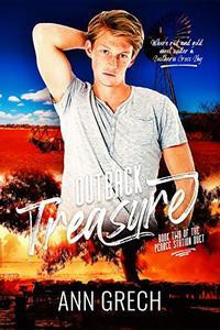 Outback Treasure II: A gay cowboy age-gap forced proximity romance