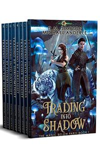 Magic Below Paris Complete Series Boxed Set (Books 1 - 8): Trading Into Shadow, Trading Into Darkness, Trading Close to Light, Trading By Firelight, Trading by Shroomlight, plus 3 more