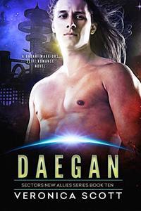 Daegan: A Badari Warriors SciFi Romance Novel
