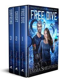 Nautilus Legends, Books 1-3: Free Dive, Caught, Surfacing: an ocean urban fantasy