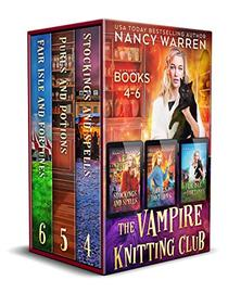 The Vampire Knitting Club Boxed Set: Books 4-6: A paranormal cozy mystery