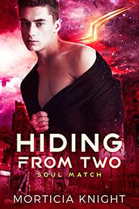 Hiding from Two: An M/M/M Sci-fi Alien Romance