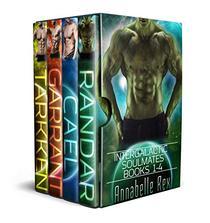 Intergalactic Soulmates Books 1-4
