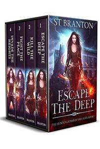 The Heinous Crimes of Sara Slick Boxed Set: Escape the Deep, Kill the Wild, Fight the Peace, Invade the Heights
