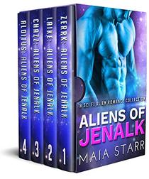 Aliens Of Jenalk: A Sci Fi Alien Romance Collection