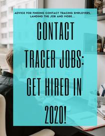 Contact Tracer Jobs: Get Hired in 2020